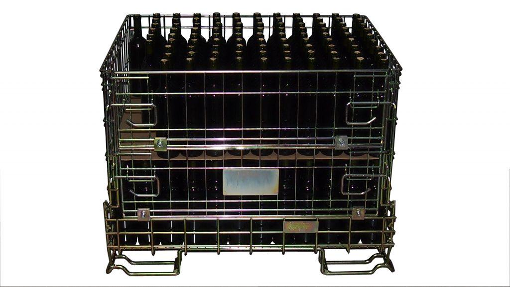Pojemnik siatkowy - ET-BOX Bordo mały 995 x 735 x h 748 mm