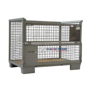 Metal pallet 1200 x 1000 x h 165 mm