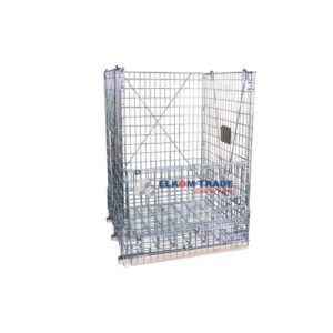 Mesh container  standard without PP plate 1200 x 1000 x h 1194 mm