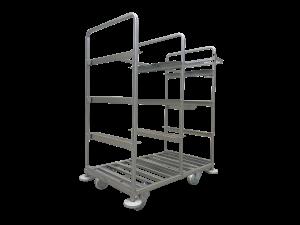 metalowy wózek kompletacyjny