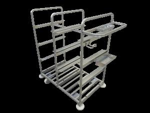 metalowy wózek kompletacyjny1