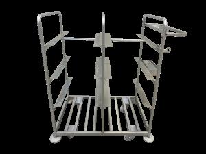 metalowy wózek do kompletacji